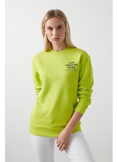 Only Sweatshirt Yeşil